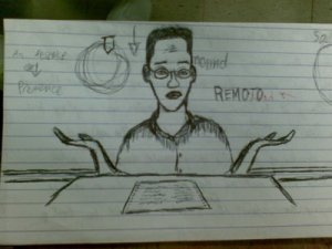student\'s cartoon
